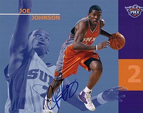 Autographed Joe Johnson Photo - 8x10 Promo AFTAL UACC RD COA - Autographed NBA Photos (Joe Johnson Photo)