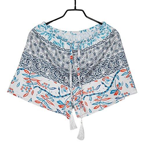 Multicolore alta donna pantaloni shorts ragazze Hot estivi vita Pants Amlaiworld 6qHTaTz