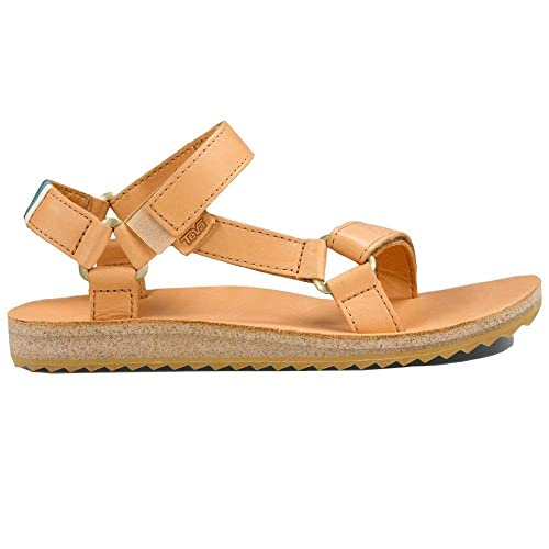 9d8e1df6907a Teva Women s Original Universal Crafted Leather Sandals (Tan ...