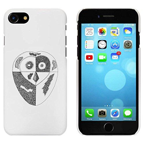 Blanc 'Hibou Patchwork' étui / housse pour iPhone 7 (MC00060368)