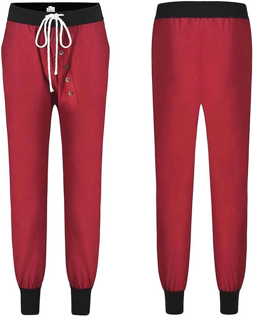 Alixyz Womens Drop Crotch Hip Hop Jogger Harem Pants Fashion Baggy Pants Trousers