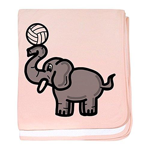 CafePress - Elephant Volleyball - Baby Blanket, Super Soft Newborn Swaddle ()