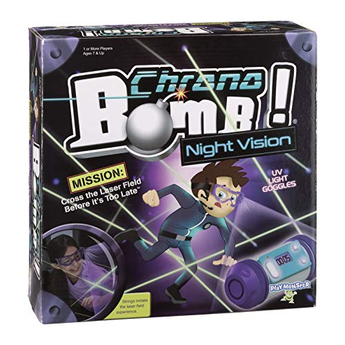 PlayMonster Chrono Bomb Night Vision Secret Agent Maze Game-Playy During The Day or in The Dark! JungleDealsBlog.com