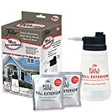 Full Exterior TV Kit-Bottle, Lid with Hose Attachment, and Two 4 oz. Crystal Powder-Outdoor Cleaner- Removes Oil, Grease, and Grime- Reaches up to 27 Feet.