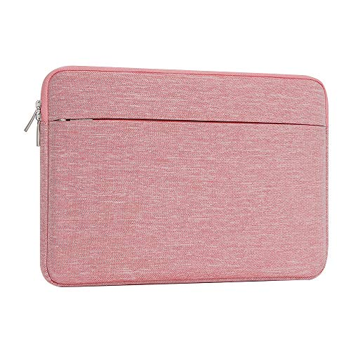 ATAILORBIRD Laptop Sleeve 15.6 Inch Carrying Protective Case Shockproof Ultrabook Notebook Bag with Pocket for Women,Pink