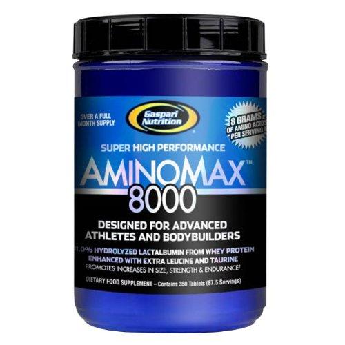 Gaspari Nutrition Amino Max 8000 Comprimés, 350 Count