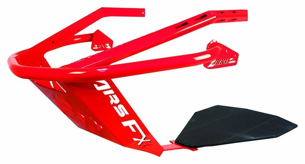 Zbroz Racing K40-0601-0-R Front Bumpers - Red