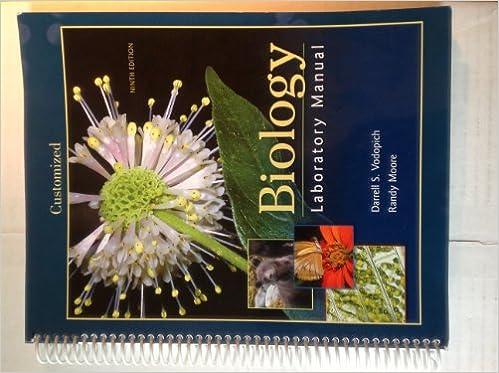 Biology laboratory manual darrell s vodopich randy moore biology laboratory manual darrell s vodopich randy moore 9780077528676 amazon books fandeluxe Gallery