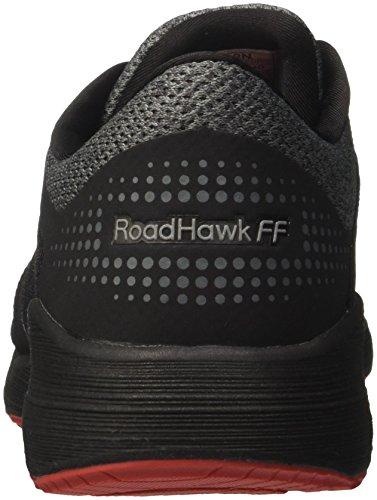 Asics Running black 9097 Ff Nero classic carbon Roadhawk Red Uomo Scarpe 44HFO