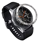 Ringke Bezel Styling for Galaxy Watch 46mm / Galaxy Gear S3 Frontier & Classic Bezel Ring Adhesive Cover Anti Scratch Stainless Steel Protection [Stainless] for Galaxy Watch Accessory GW-46-01