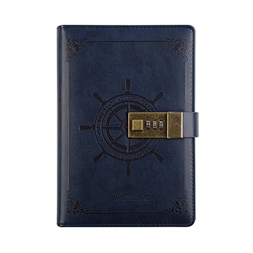 Dark Blue Notepad Holder - 5