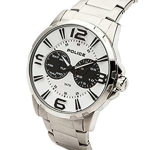 INTELIHANCE. 14100JS/01M - Reloj de Cuarzo para Hombre, Correa de Acero Inoxidable Color Plateado 2