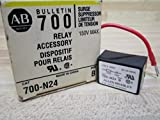Allen Bradley 700-N24 Surge Suppressor Relay Accessory, For Mounting on Coil Terminal