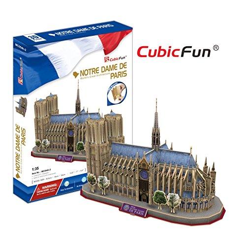 CubicFun MC054H Notre Dame De Paris Puzzle