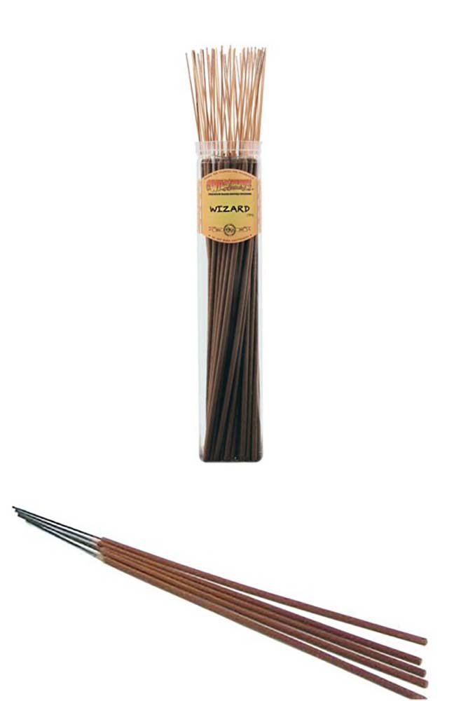 WIZARD - Wild Berry Highly Fragranced Large Incense Sticks''Biggies'' (50 Pack), 19'' Tall by WILDBERRY (Image #1)