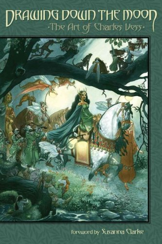 Read Online Drawing Down the Moon: The Art of Charles Vess pdf epub