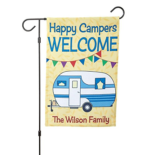 Current Personalized RV Single-Sided Garden Flag - 12