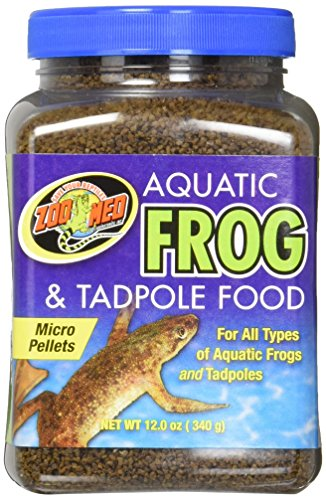 - Zoo Med Aquatic Frog and Tadpole Food, 12 Ounces, Made in The USA