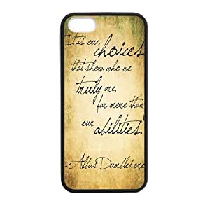 Harry Potter-Quotes Case for iPhone 5 5s case wangjiang maoyi