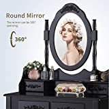 Mecor Vanity Table,Makeup Dressing Table with