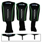 Seattle Seahawks Golf 3 pack MB Headcovers, Outdoor Stuffs