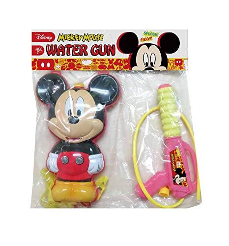 디즈니 귀여운 배낭 타입 물총 풀 물장난 워터 건 짊어진 탱크 대용량 물장난 미키/미니