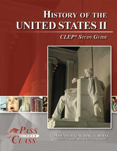 CLEP United States History 2 Study Guide (Perfect Bound) (Clep History Of The United States compare prices)