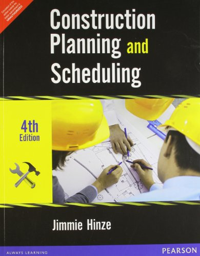 construction planning and scheduling book pdf