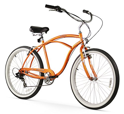Firmstrong Urban Man Seven Speed Beach Cruiser Bicycle, 26-Inch, ()