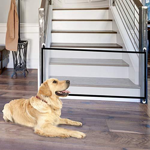 Pet Safety Gate Magic Dog Gate Magic Gate for Dog,43.3