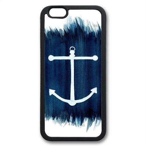 Coque silicone BUMPER souple IPHONE 6 - Ancre marine anchor motif 6 DESIGN case+ Film de protection OFFERT