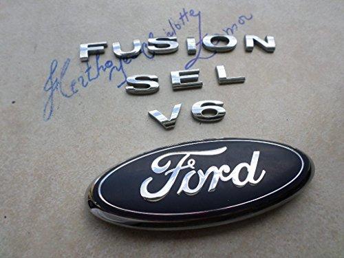 (06-12 Ford Fusion SEL V6 Tailgate 2883 D720B ENG #T1206 Emblem 6E5Z-5442528A Logo Decal Ornaments Set)