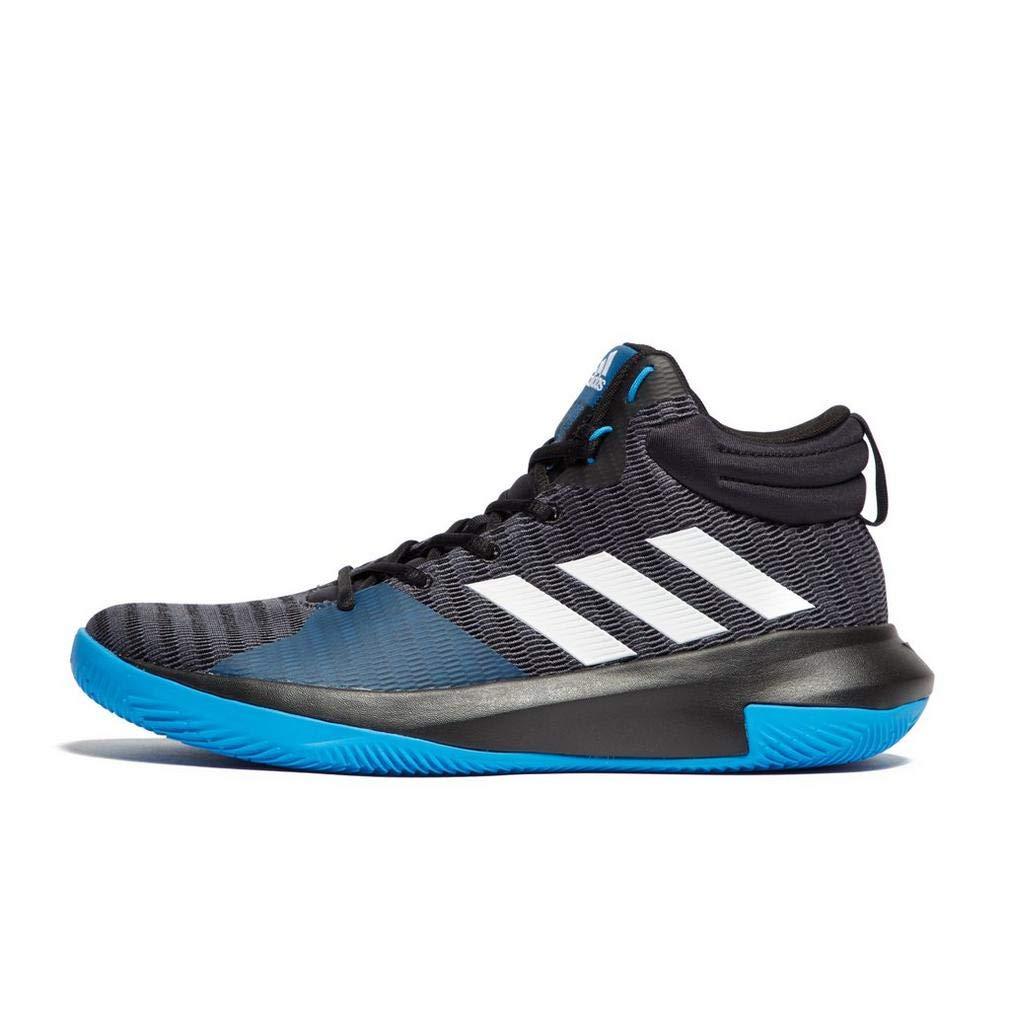 Noir (Cnoir Ftwwht Brbleu Cnoir Ftwwht Brbleu) adidas Pro Elevate 2018, Chaussures de Basketball Homme 45 1 3 EU