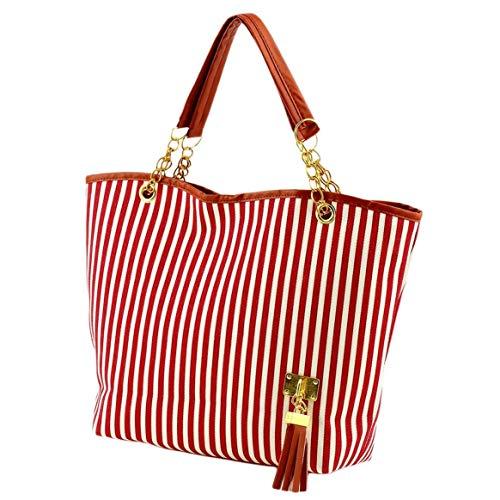 de la bandoulière à tout femmes à main de à sacs fourre tout toile de plage provisions de de dames de Sacs de à mode de de sac dames fourre tAawB
