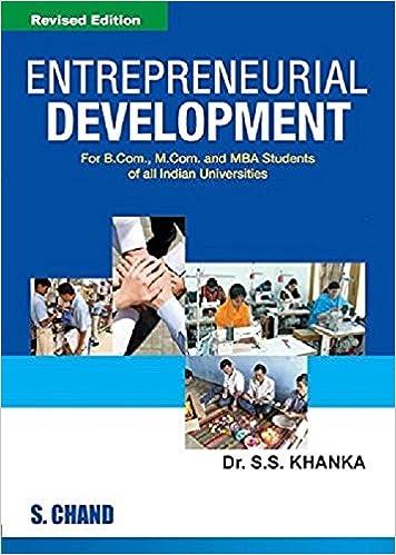 Entrepreneurship Development S Anil Kumar Pdf
