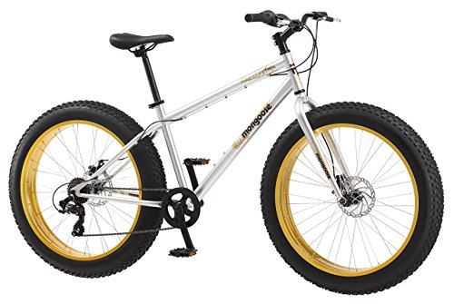 Mongoose Mens Malus Fat Tire Bicycle