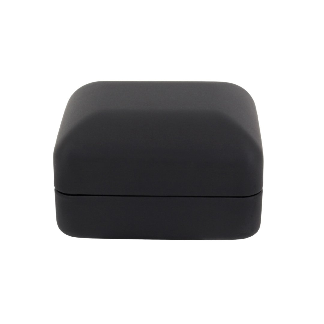 Naimo Velvet Engagement Ring LED Light Jewelry Gift Box (Black) by Naimo (Image #4)