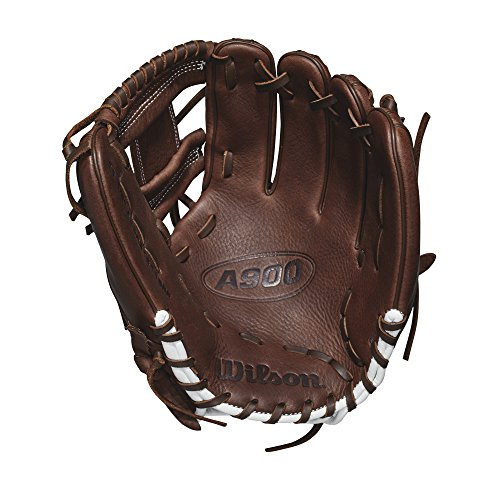 """Wilson A900 Pedroia Fit 11.5"""" Baseball Glove - Right Hand Throw"""