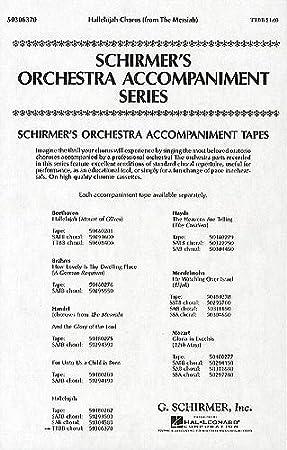 Gf Handel Hallelujah Chorus Messiah Ttbb Sheet Music