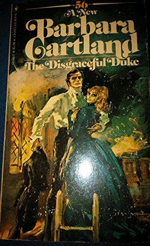 book cover of Disgraceful Duke