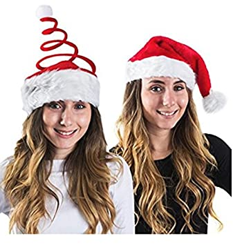 funny christmas hats winter theme headgear set of 2 for teens adults - Christmas Plays For Adults