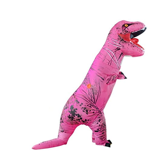 Partido del dinosaurio del traje de Halloween para adultos ...