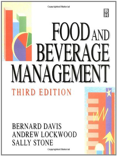 Food and Beverage Management, Third Edition