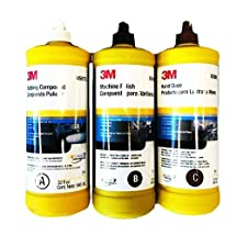 3M BUFFING & POLISHING Compound Hand Glaze Package 5973 5996 5990