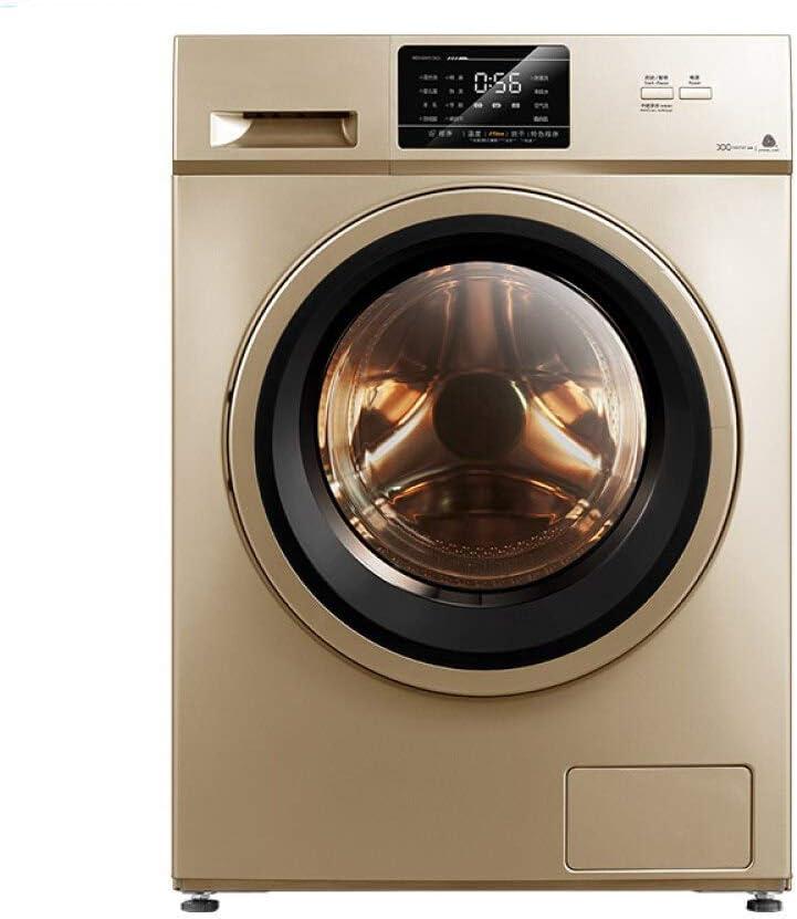 10キロのドラム洗濯機自動洗濯周波数ベークつの空気硬化風味滅菌洗浄ジバの家族:10キロ周波数ローラ[洗浄]爆発モデル滅菌 (Color : 10kg)
