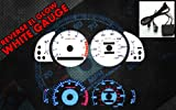 Brand New White Face Blue Indigo Reverse Glow Gauges For 1992-1996 Camry l4 (RCF-TM92-96)