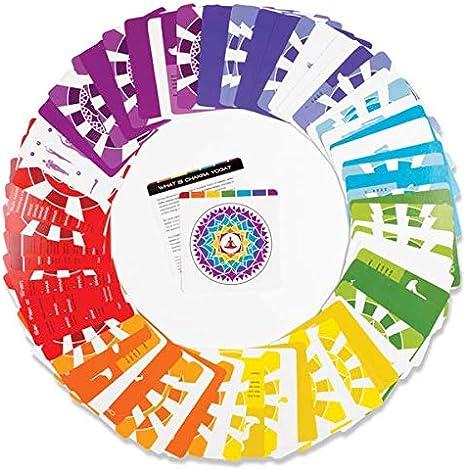Amazon.com: Chakra Activation Deck- 70+ Color-Coded, Durable ...