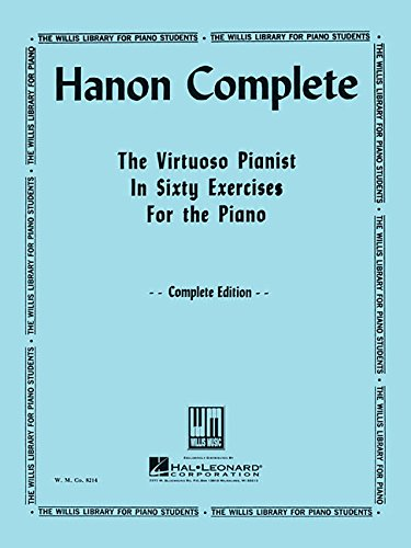 Hanon Piano Book - Hanon Complete