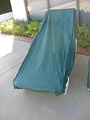 Deluxe Heavy Gauge Vinyl Chaise Lounge Cover:new