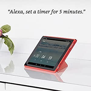 Fire HD 10 Tablet with Alexa Hands-Free, 10.1″ 1080p Full HD Display, 32 GB, Black (Previous Generation – 7th)